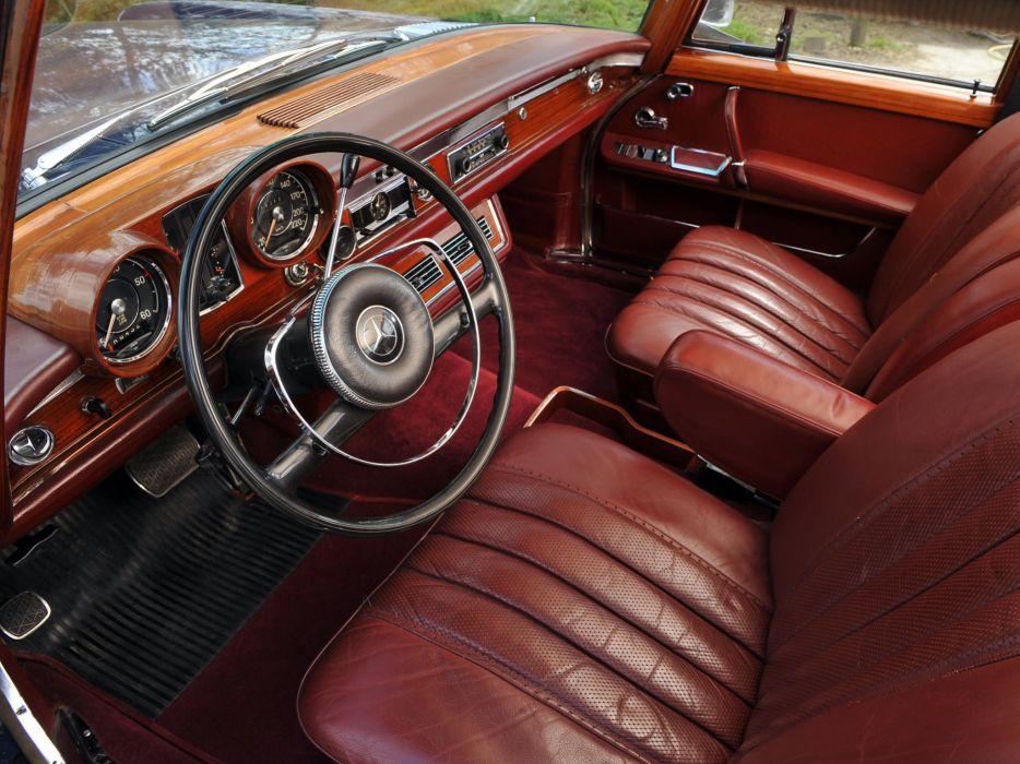 1964-81 Mercedes Benz 600 W100 luxury interior q wallpaper