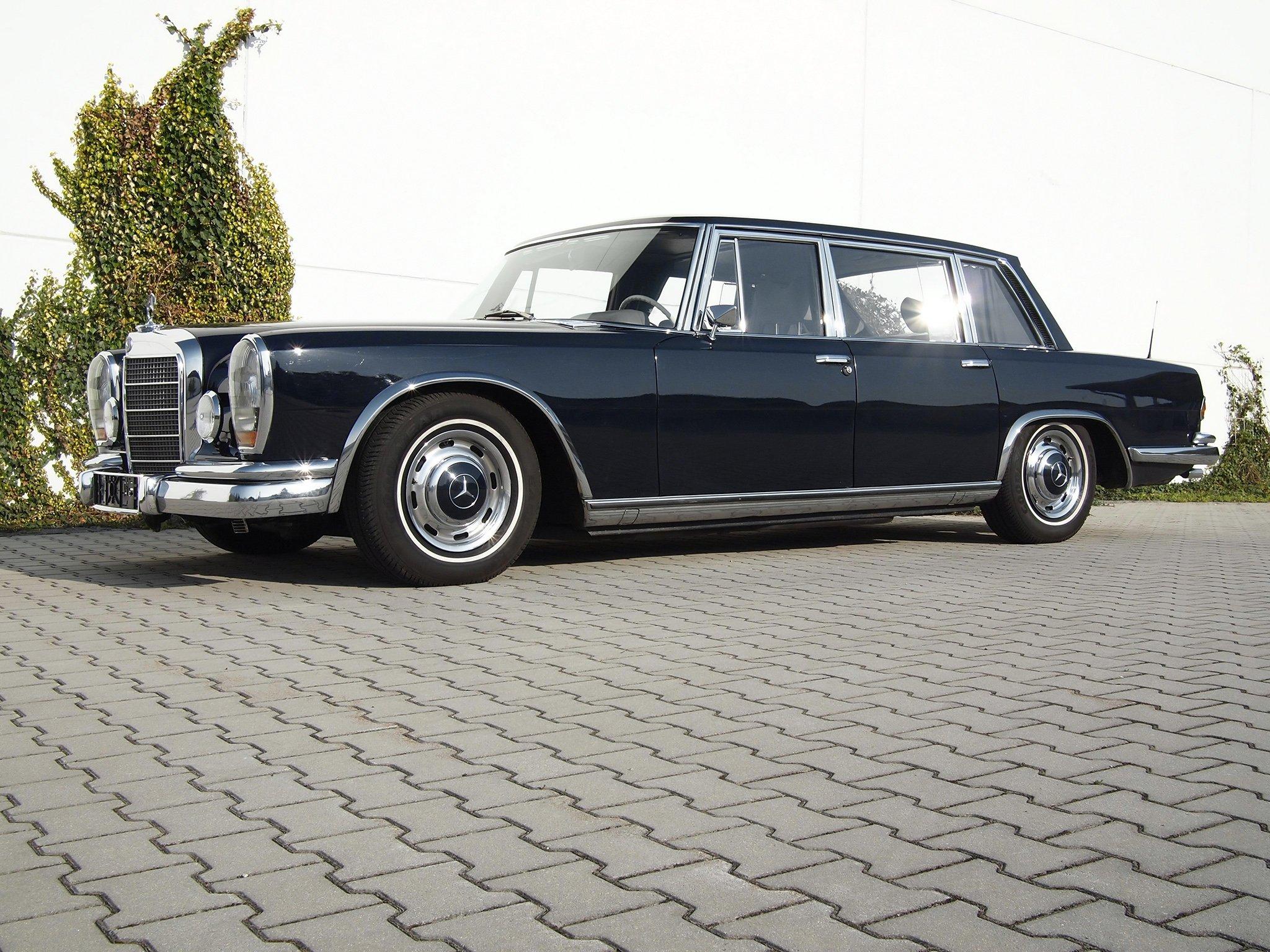 1964-81 Mercedes Benz 600 W100 luxury g wallpaper ...