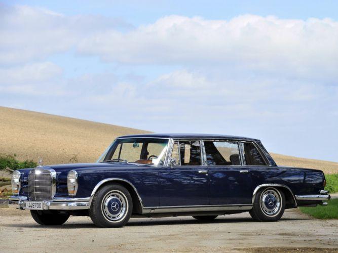 1964-81 Mercedes Benz 600 W100 luxury h wallpaper