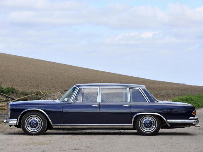 1964-81 Mercedes Benz 600 W100 luxury f wallpaper