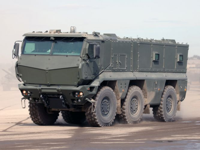 2010 KamAZ 63698 Typhoon 6x6 military f wallpaper