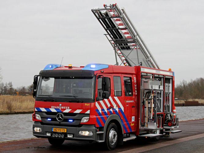 2012 Ziegler Mercedes Benz Atego 1426F Brandweer firetruck emergency semi tractor b wallpaper