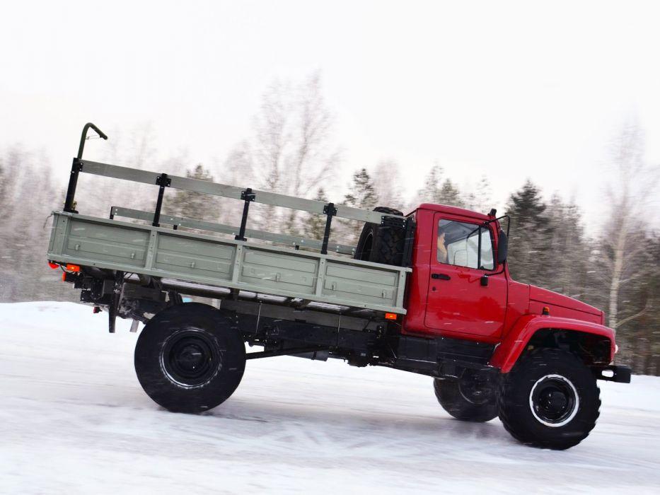 2013 GAZ 33088 Sadko 4x4 offroad pickup semi tractor military  f wallpaper