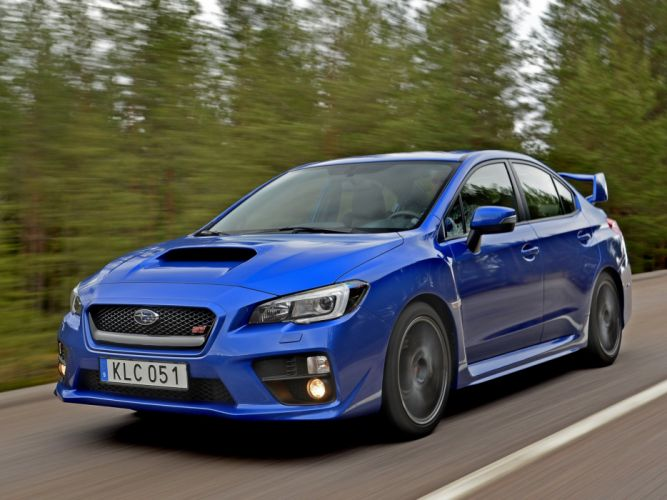 2014 Subaru WRX STI y wallpaper