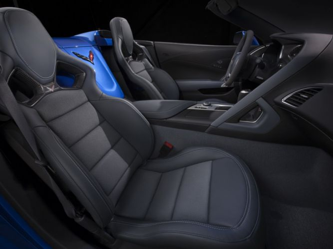 2015 Chevrolet Corvette Z06 Convertible (DA-7) supercar muscle interior f wallpaper