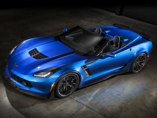 2015 Chevrolet Corvette Z06 Convertible (DA-7) supercar muscle d wallpaper