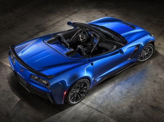 2015 Chevrolet Corvette Z06 Convertible (DA-7) supercar muscle e wallpaper