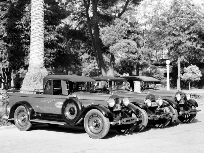 Lincoln Model-L pickup retro f wallpaper