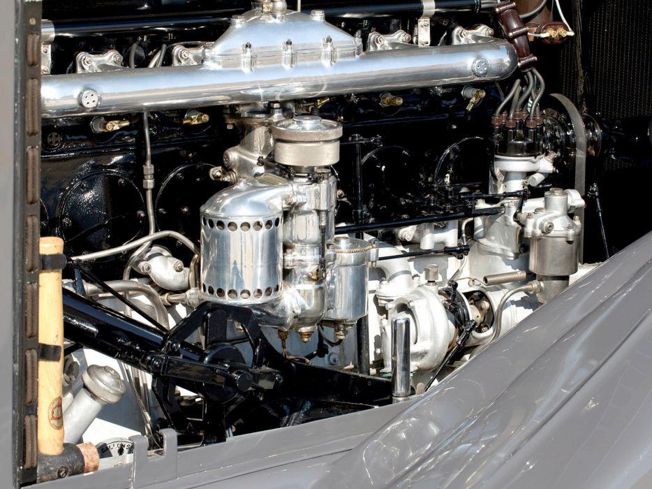 1932 Rolls Royce Phantom-II Continental Drophead Coupe Carlton Phantom luxury retro engine   g wallpaper