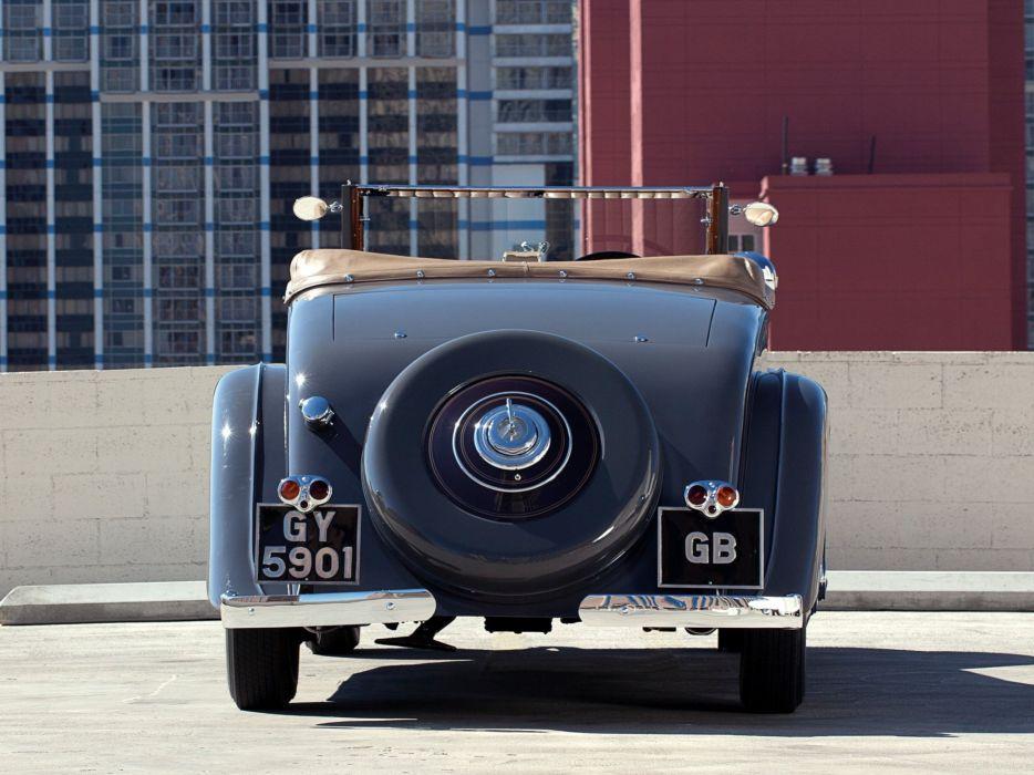 1932 Rolls Royce Phantom-II Continental Drophead Coupe Carlton Phantom luxury retro ws wallpaper