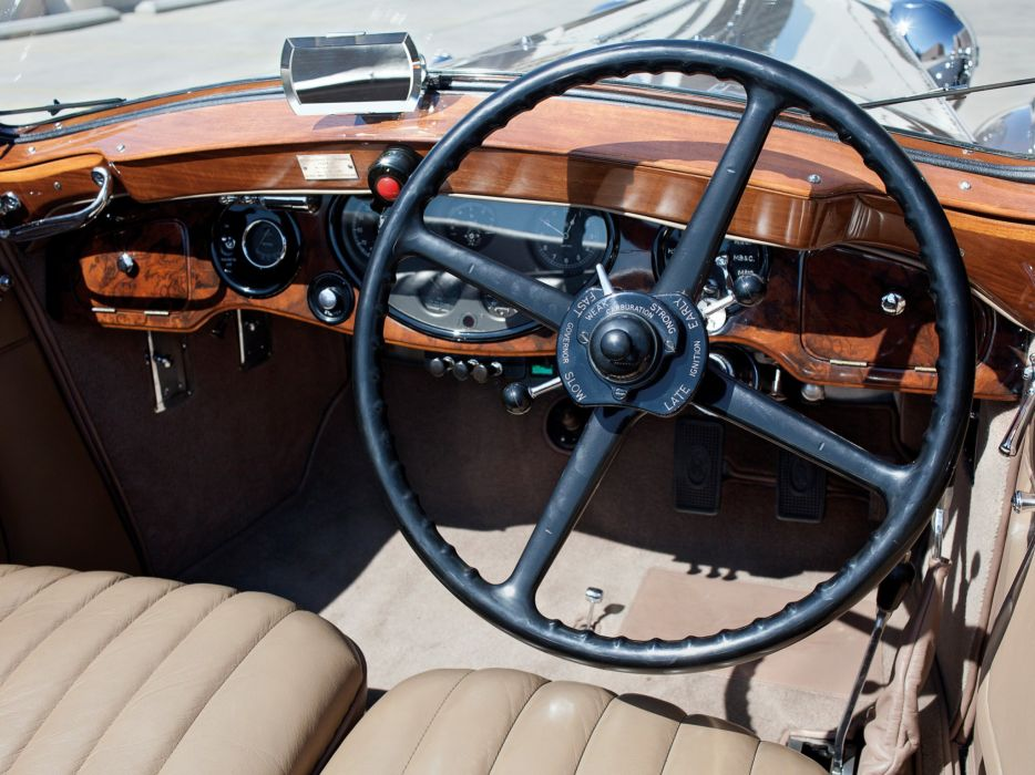 1932 Rolls Royce Phantom-II Continental Drophead Coupe Carlton Phantom luxury retro interior   g wallpaper