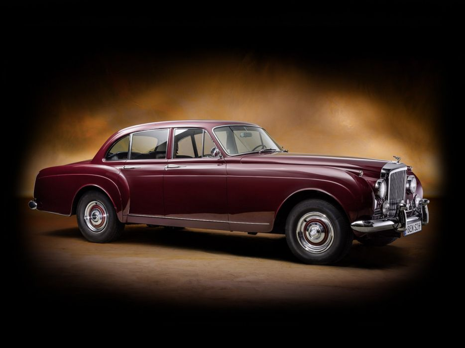 1959-62 Bentley S-2 Continental Flying Spur Mulliner luxury     h wallpaper