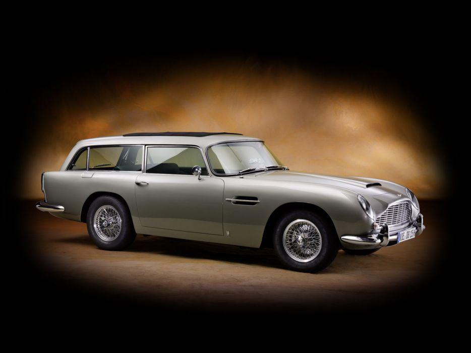1965 Aston Martin DB5 Vantage Shooting Brake Harold Radford stationwagon classic      gg wallpaper