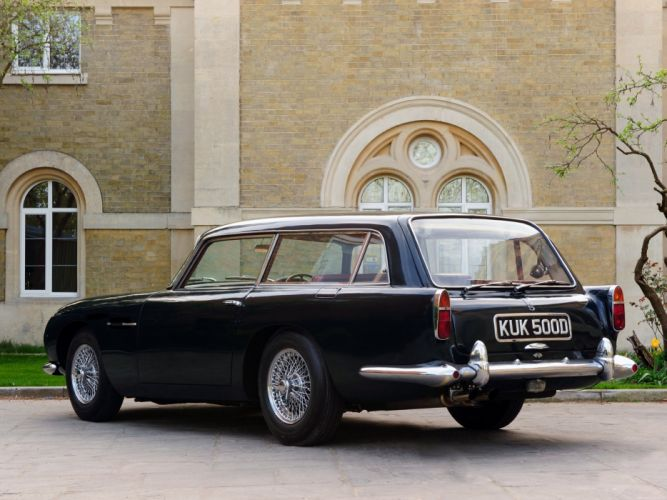 1965 Aston Martin DB5 Vantage Shooting Brake Harold Radford stationwagon classic j wallpaper