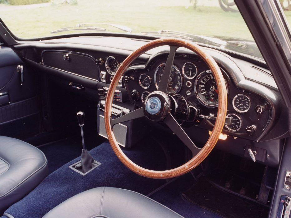 1965-69 Aston Martin DB6 Volante UK-spec classic interior  f wallpaper