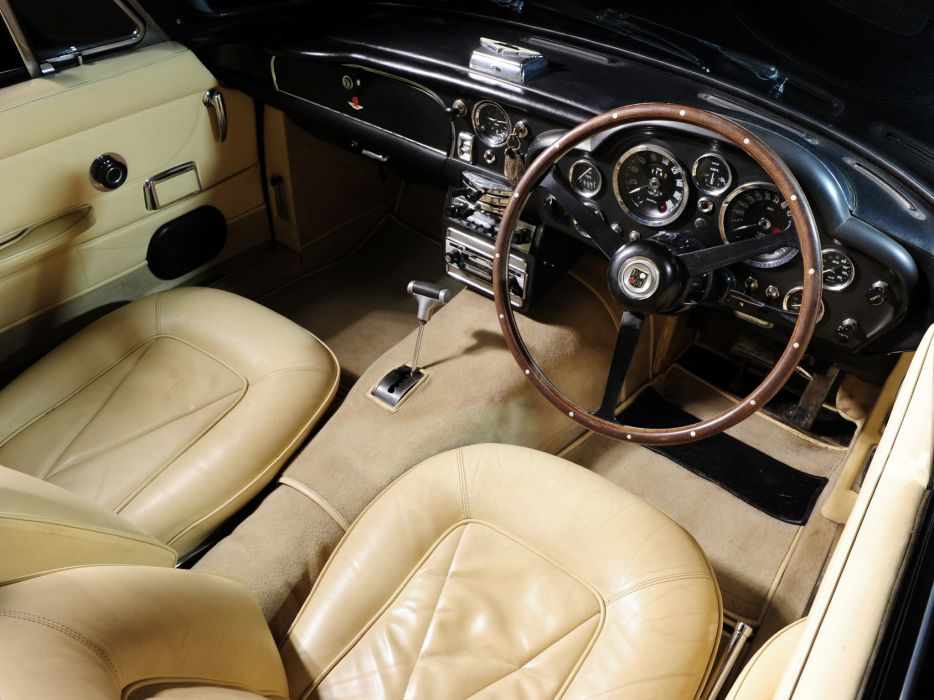 1965-69 Aston Martin DB6 Volante UK-spec classic interior  f wallpaper