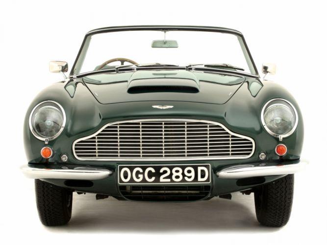 1965-69 Aston Martin DB6 Volante UK-spec classic r wallpaper