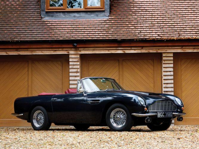 1965-69 Aston Martin DB6 Volante UK-spec classic n wallpaper