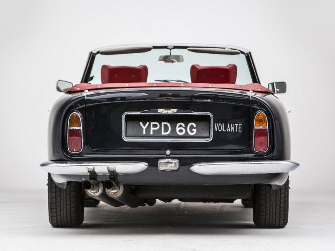 1965-69 Aston Martin DB6 Volante UK-spec classic re wallpaper