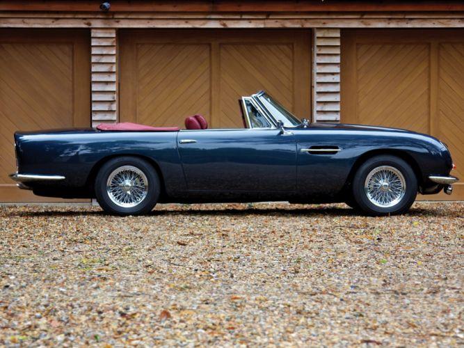 1965-69 Aston Martin DB6 Volante UK-spec classic hd wallpaper