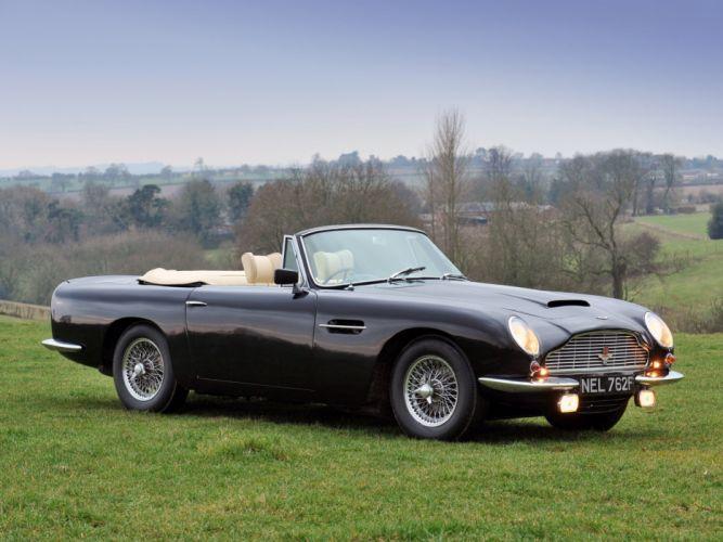 1965-69 Aston Martin DB6 Volante UK-spec classic e wallpaper