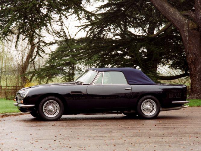1965-69 Aston Martin DB6 Volante UK-spec classic g wallpaper