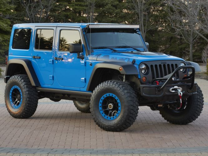 2014 Jeep Wrangler Maximum Performance Concept (J-K) 4x4 tuning g wallpaper