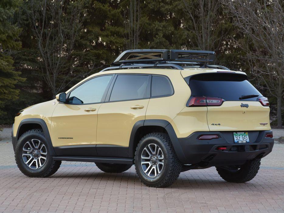 2014 Jeep Cherokee Dakar Concept (K-L) stationwagon suv 4x4      g wallpaper