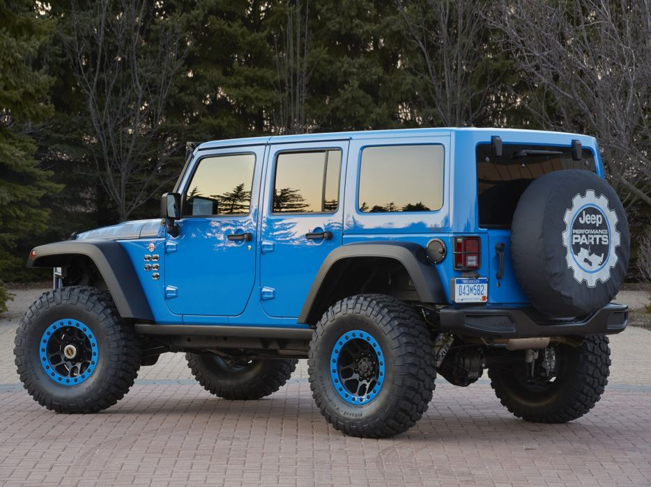 2014 Jeep Wrangler Maximum Performance Concept (J-K) 4x4 tuning     h wallpaper