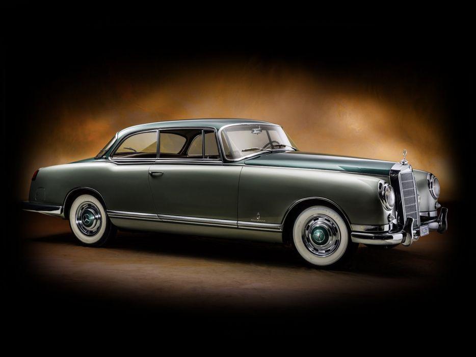 1955 Mercedes Benz 300b Pinin Farina Coupe (W186) luxury retro    g wallpaper