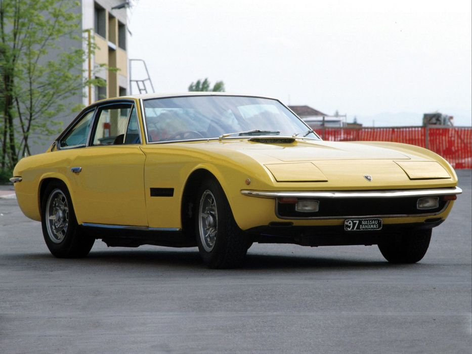 1969-71 Lamborghini Islero 400 GTS supercar classic  h wallpaper