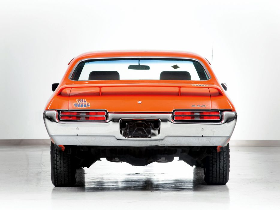 1969 Pontiac GTO Judge Hardtop Coupe muscle classic m wallpaper