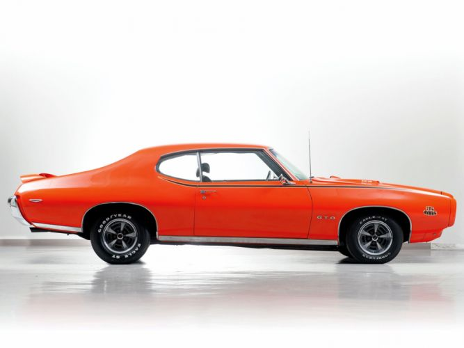 1969 Pontiac GTO Judge Hardtop Coupe muscle classic y wallpaper