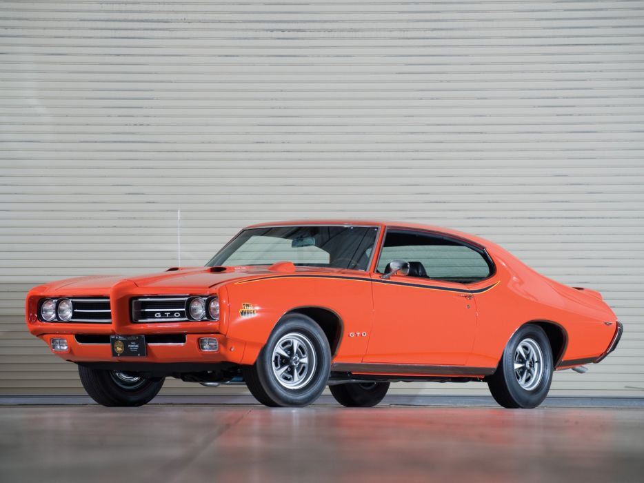 1969 Pontiac GTO Judge Hardtop Coupe muscle classic  rw wallpaper