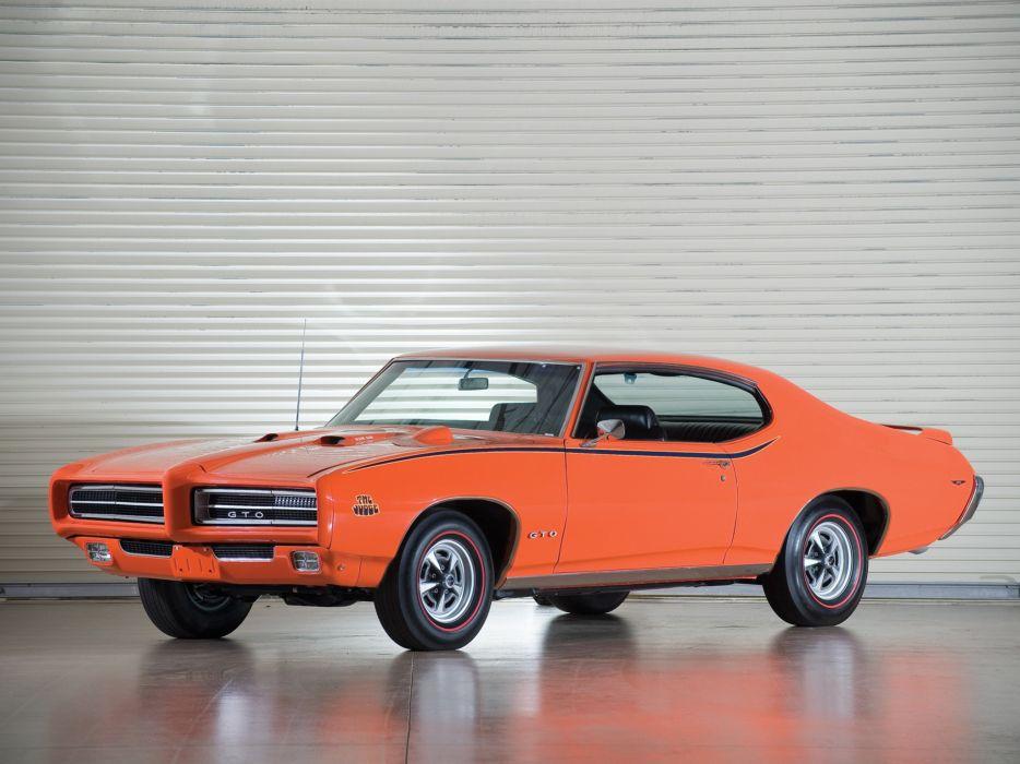 1969 Pontiac GTO Judge Hardtop Coupe muscle classic  g wallpaper