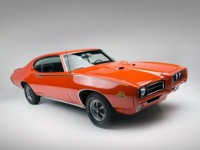 1969 Pontiac GTO Judge Hardtop Coupe muscle classic e wallpaper
