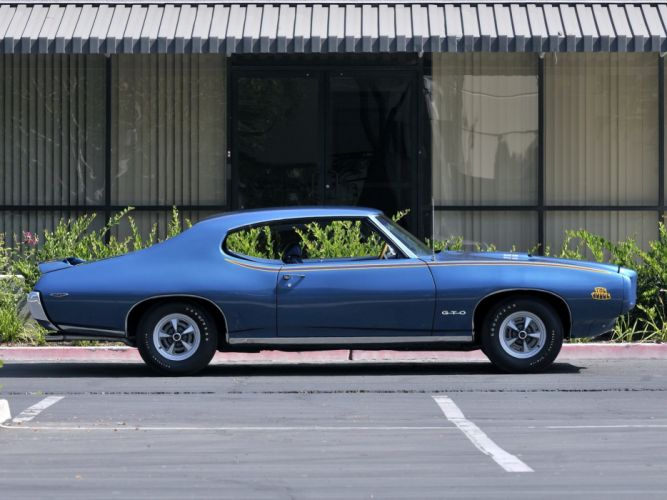 1969 Pontiac GTO Judge Hardtop Coupe muscle classic ey wallpaper