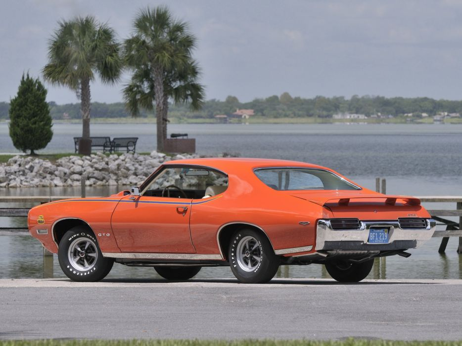 1969 Pontiac GTO Judge Hardtop Coupe muscle classic       g wallpaper