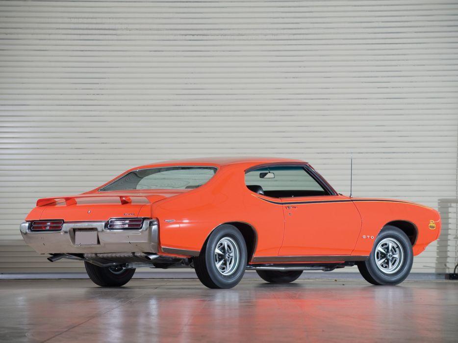 1969 Pontiac GTO Judge Hardtop Coupe muscle classic    j wallpaper