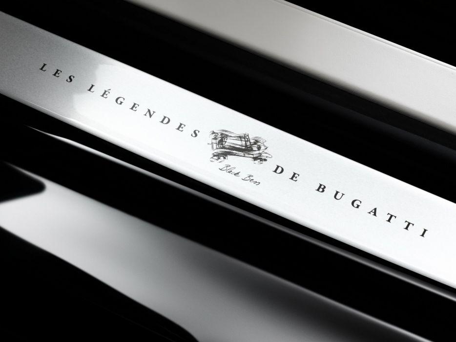 2014 Bugatti Veyron Grand Sport Roadster Vitesse Black Bess supercar logo poster   g wallpaper