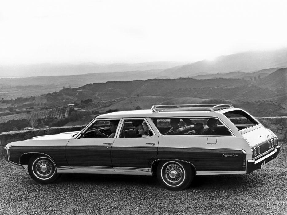 1969 Chevrolet Kingswood Estate stationwagon classic    g wallpaper