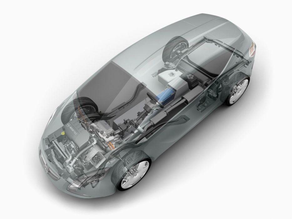 2007 Opel Flextreme Concept interior engine   g wallpaper