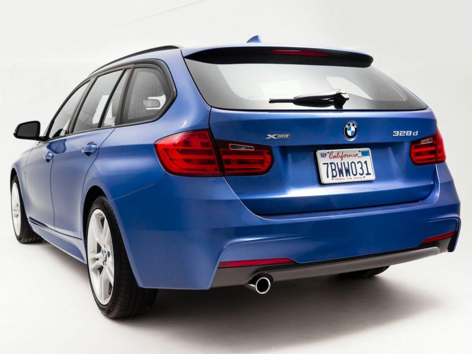 2013 BMW 328d xDrive SportsWagon M Sport Package (F31) stationwagon 328 eg wallpaper