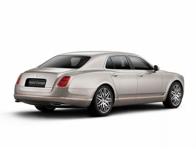 2014 Bentley Hybrid Concept luxury f wallpaper