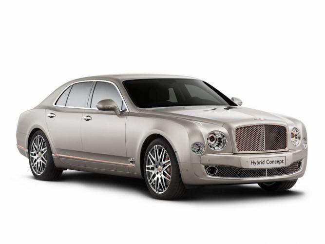 2014 Bentley Hybrid Concept luxury g wallpaper
