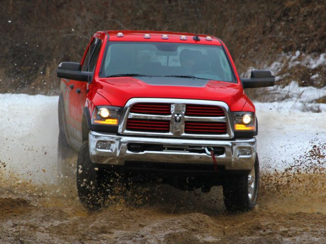 2014 Dodge Ram 2500 Power Wagon pickup 4x4 ds wallpaper