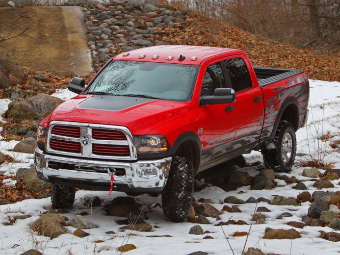 2014 Dodge Ram 2500 Power Wagon pickup 4x4 e wallpaper