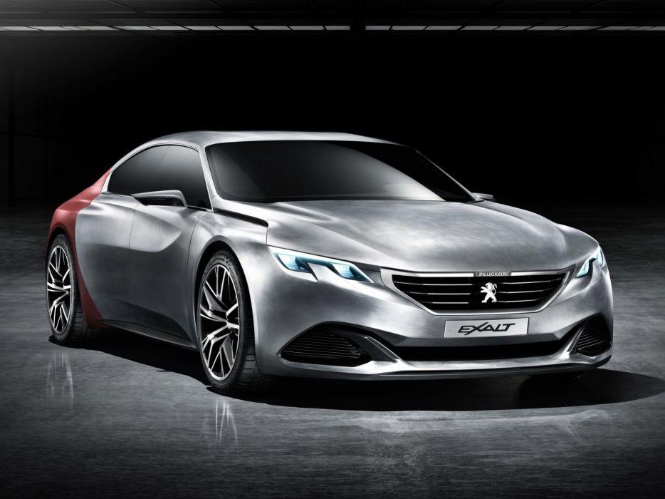 2014 Peugeot Exalt Concept  f wallpaper