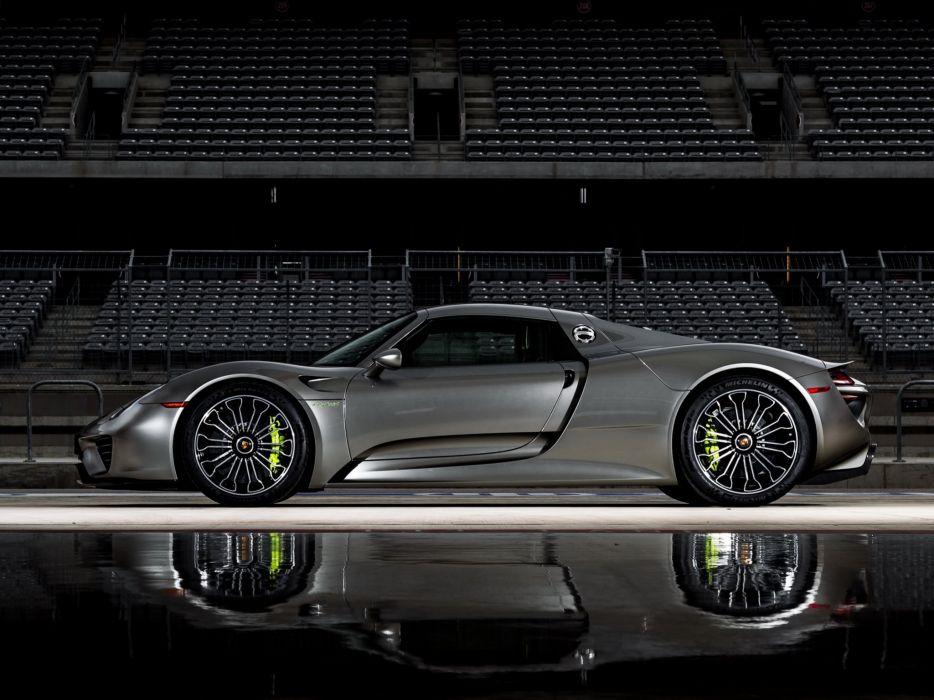 2014 Porsche 918 Spyder US-spec supercar d wallpaper