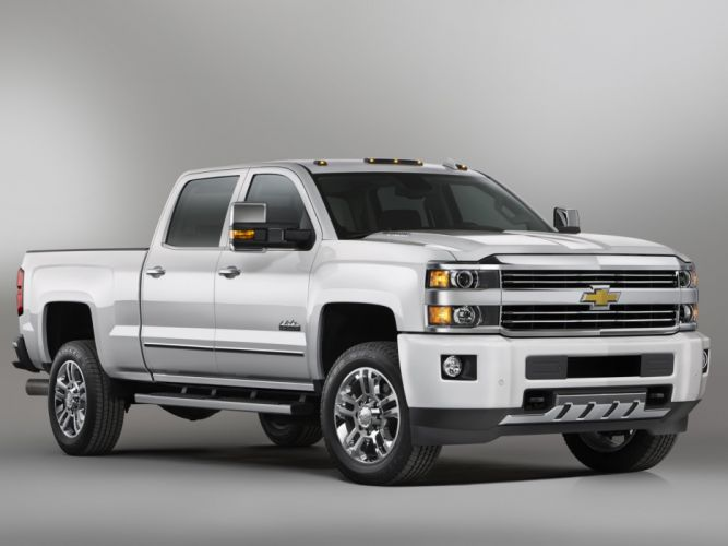 2015 Chevrolet Silverado 2500 H-D High Country Crew Cab pickup f wallpaper